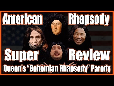 "American Rhapsody Super Review (Queen's ""Bohemian Rhapsody"" Parody) feat. HipHughes and Mr. Beat"