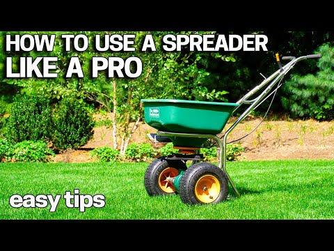How To Use A Lawn Spreader Like A Pro