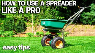 How to Fertilize your Lawn - Use a Spreader Like a Pro - DIY