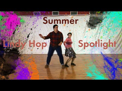 Summer Lindy Hop Spotlight! Private and group lessons in DanceTLV!