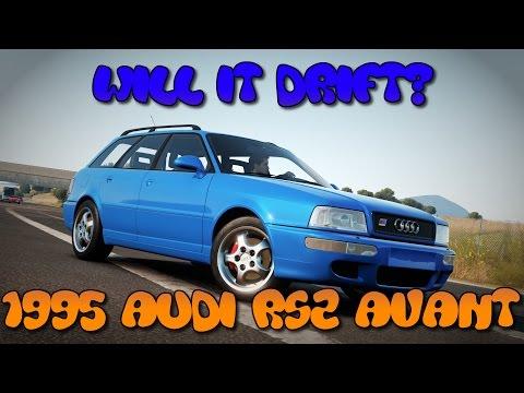 Forza Horizon 2 - Will It Drift? - 1995 Audi RS2 Avant