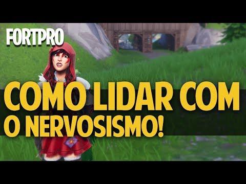 FORTPRO #8 - COMO LIDAR COM O NERVOSISMO! FORTNITE BATTLE ROYALE