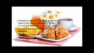 FOOD/ЕДА.  Английский для всех.