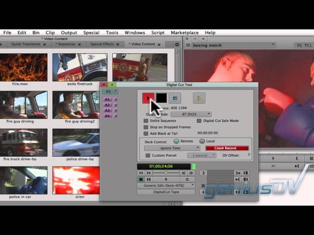 Avid Media Composer Export Process