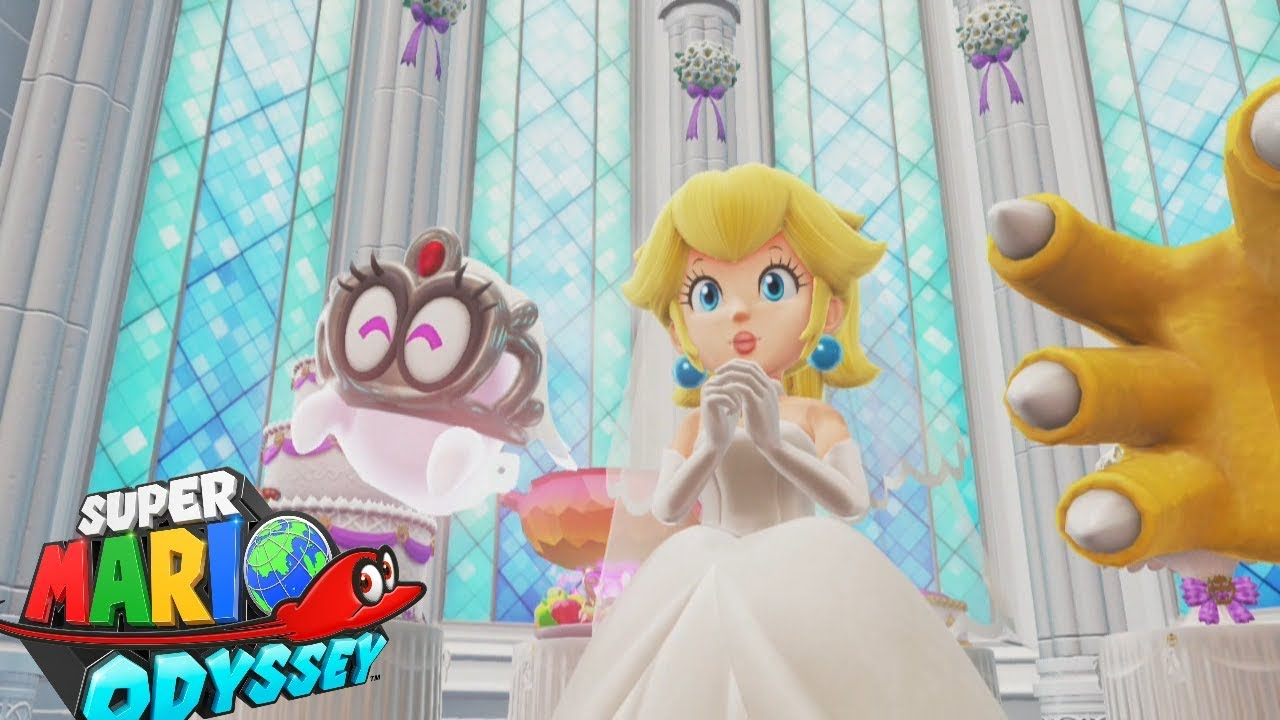 Super Mario Odyssey   Crashing the Wedding   YouTube