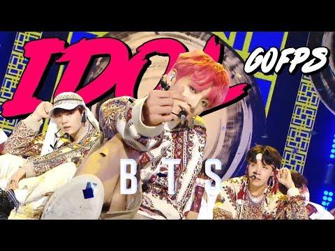 60FPS 1080P | BTS - idol, 방탄소년단 - 아이돌 Show Music Core 20180908