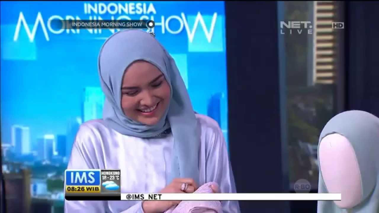 Talk Show Desainer Hijab Ria Amanda -IMS