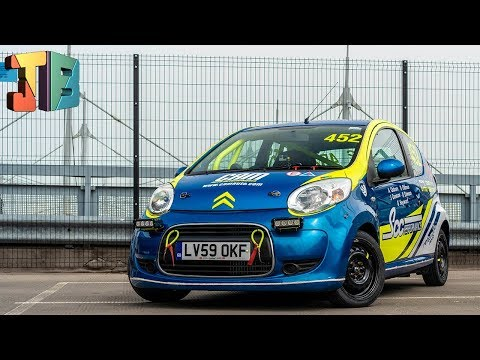 The CHEAPEST Way To Get In To Motor Racing? 🏎🏁 Citroen C1 Race Car Review