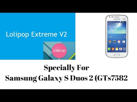 Lollipop Extreme v2 for Samsung Galaxy S Duos 2 / Trend Plus