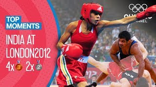 India's most successful Olympic Games  London 2012 | Top Moments