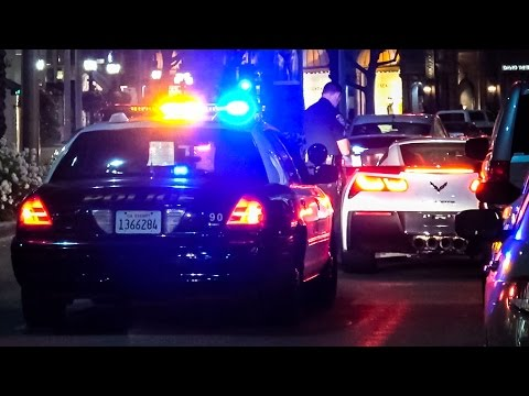 Police Clampdown in Beverly Hills | SAVE THE LEAP 13