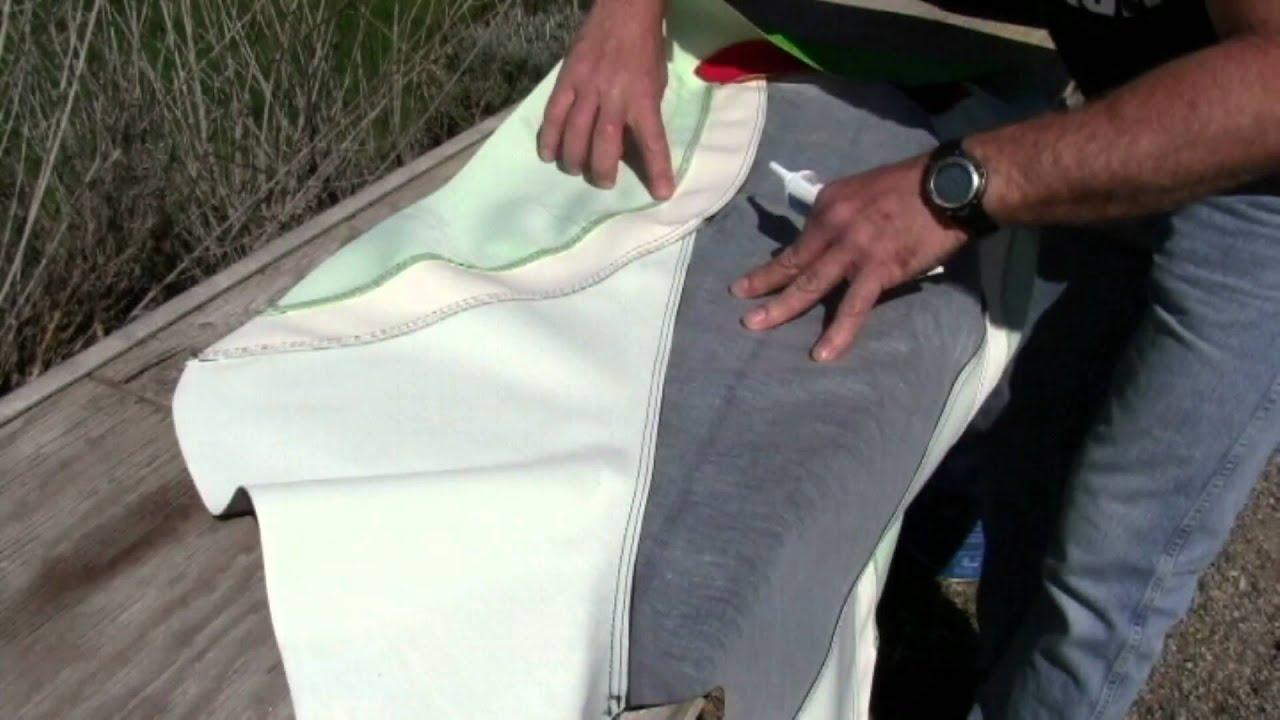sea-doo XP HydroTurf seat cover installation 2011