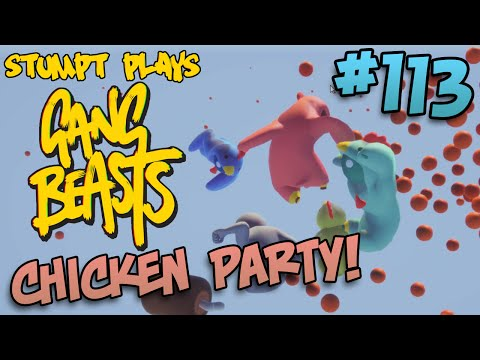 Gang Beasts - #113 - Chicken Party!