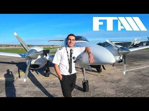 Become A Student Pilot At FTA   My First Commercial   Airline Pilot Training 2018