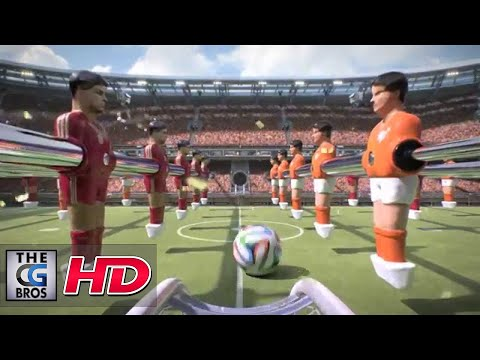 "CGI Animated Spot HD: ""World Cup 2014"" - by Postoffice Amsterdam"