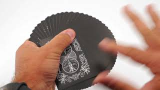 Video: Bicycle Legacy Shadow Masters v2 Playing Card