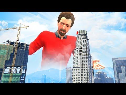 GTA 5 - PLAYING as a GOD!