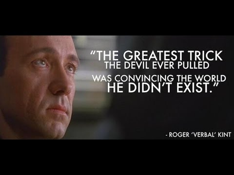 the usual suspects 1995 hd the greatest trick quote kevin spacey