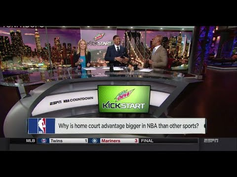 How Important is Home Court Advantage In The NBA? | NBA Countdown | May 27, 2018