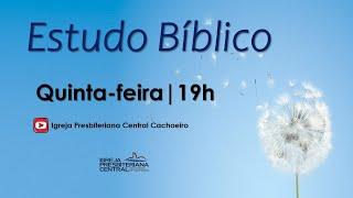 """Estudo Bíblico: """"Deus é Soberano"""" - 28 de janeiro de 2021"""