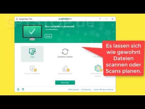 Kaspersky Free - Das Gratis-Schutzpaket Ohne Werbung