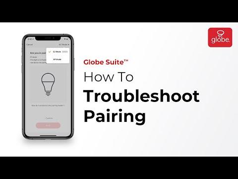 Troubleshooting Pairing in the Globe Suite app