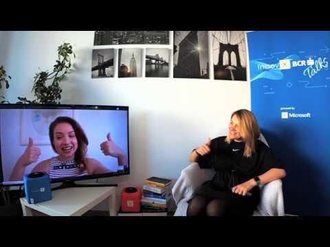 Raluca Bacinschi, CEO IziBac @ InnovX BCR Talks powered by Microsoft