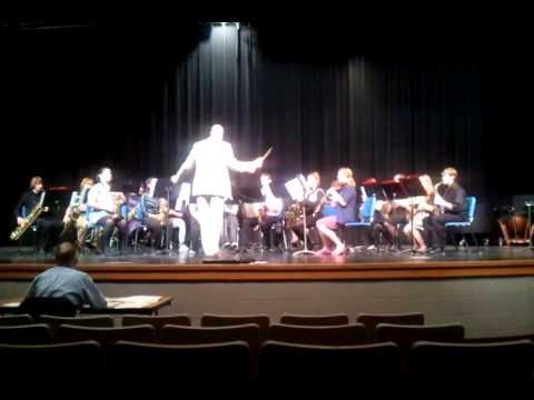 Milton High School Saxophone Choir - 2012 Solo & Ensemble