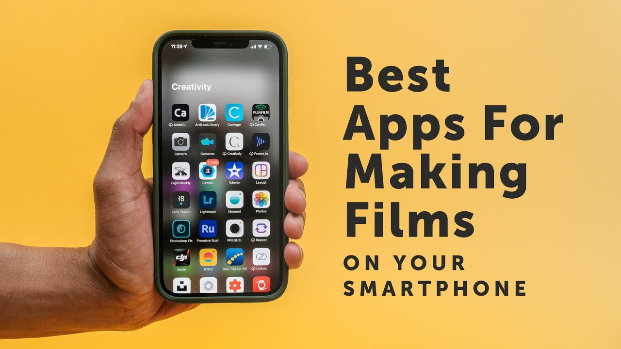 Best Apps for Making Films On Your Smartphone