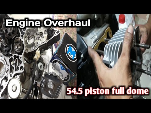 Honda Wave 110r Overhaul | Installing 54.5 Block | Part 1