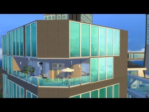 The Sims 4-City Living-Penthouse Renovation