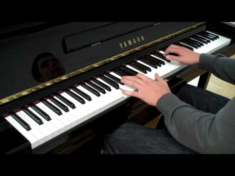 Akon - Beautiful Piano Cover