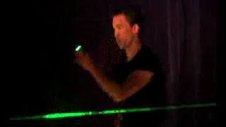LASER Magic - Its a Lightsaber! Impossible Science w Applied Physics - Jason Latimer