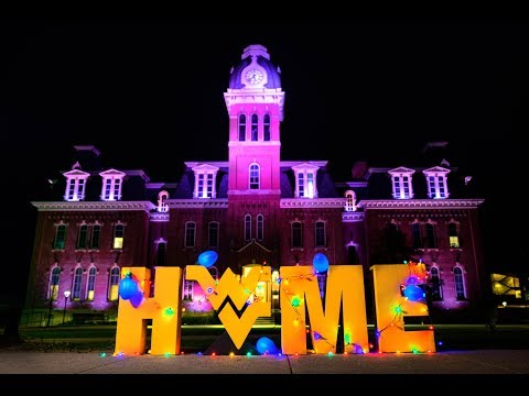 WVU IS HOME FOR THE HOLIDAYS 💛💙