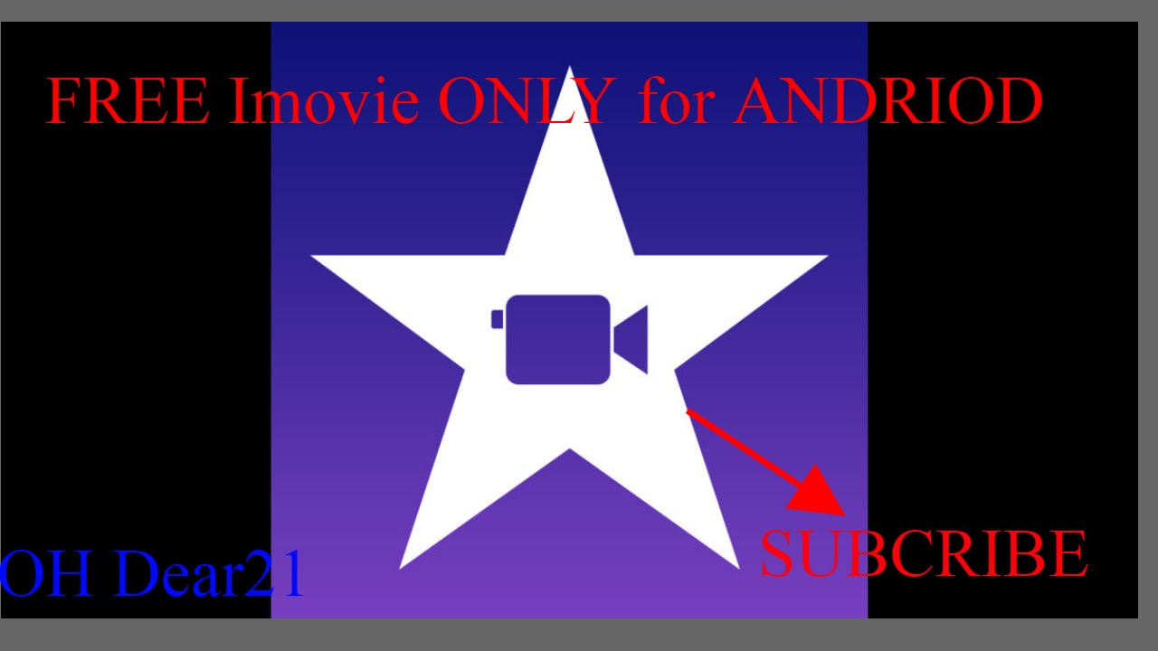 Free working iMovie NEW METHOD only for android