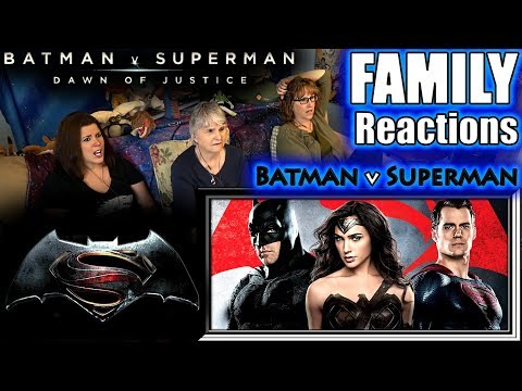 Batman V Superman Ultimate | FAMILY Reactions