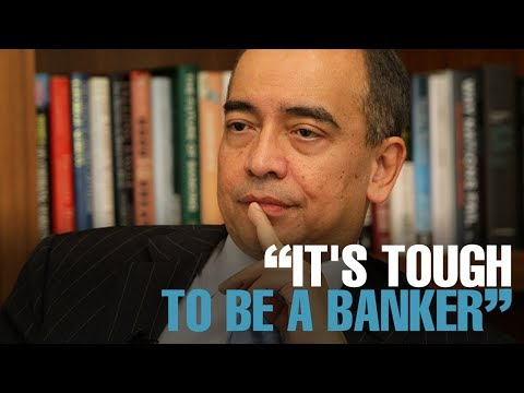 """NEWS: Nazir: """"It's tough to be a banker"""""""