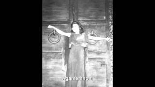 """R. Strauss - Elektra (Inge Borkh) - """"Allein! Weh, ganz allein."""""""