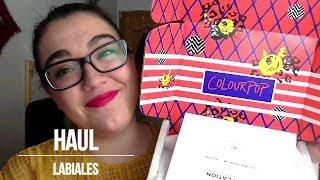 Haul ColourPop|| Lippies, ultra Matte, Ultra satin