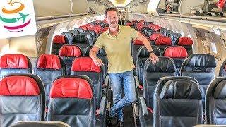 Turkish Airlines, die beste europäische Economy Class? A321 HAJ-IST | GlobalTraveler.TV