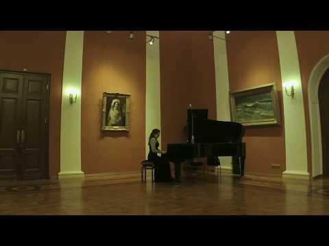 Julia Mortyakova performs Cécile Chaminade, Six Romances Sans Paroles, Op. 76