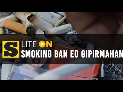 Duterte gipirmahan nationwide smoking ban EO