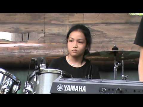 Mahadewi - Padi Cover by Purwacaraka Music Student - Nikita's performance @ Drum