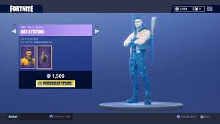 Fortnite Daily Item Shop August 3rd 2018 rare pathfinder skin back in shop