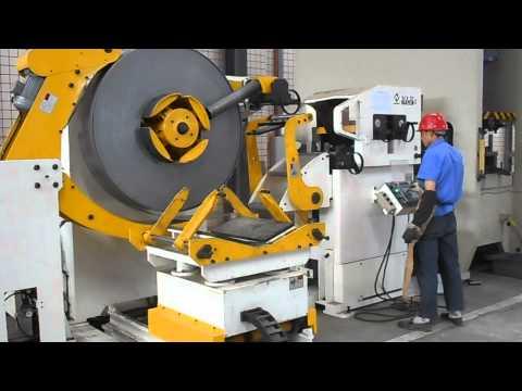 Leveling Feeder Line 3 In 1+Metal Coil Feeder+Hydraulic Uncoiler Machine+Coil Feeder