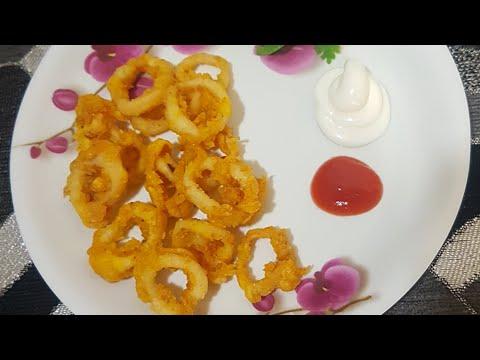 Easy Squid/calamari Rings Recipe