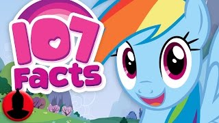 107 My Little Pony: Friendship Is Magic Facts YOU Should Know! (ToonedUp #42) @ChannelFred