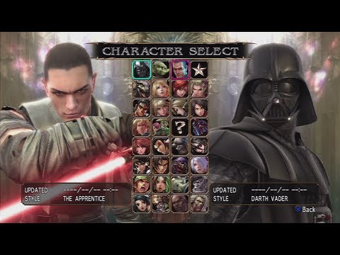 Soulcalibur IV All Characters (Including DLC) [PS3]