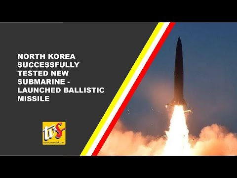 North Korea Successfully Tested New Submarine-Launched Ballistic Missile