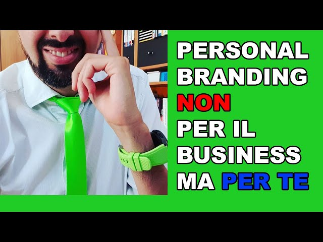 Personal Branding: i vantaggi personali (NON di web marketing)